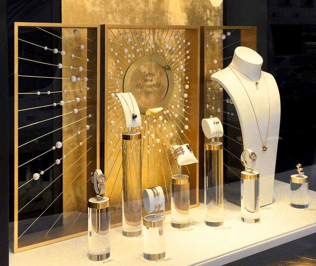Design Vitrine vitrine piaget possession agence saïnko